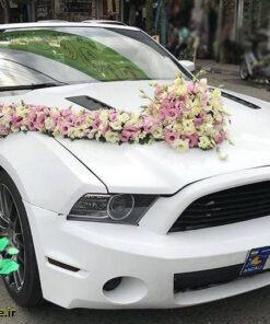 ماشین عروس گل طبیعی