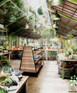 دکوراسیون فروشگاه گل