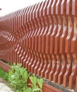 نرده پارتیشن چوبی