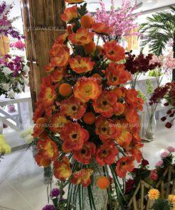 جام گل مصنوعی محصولی بسیار زیبا موجود در فروشگاه ملی مجموعه پارادایس گل مصنوعی