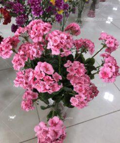 گل مصنوعی شمعدانی
