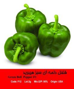 بذر فلفل سبز هیبرید Green Bell pepper F1