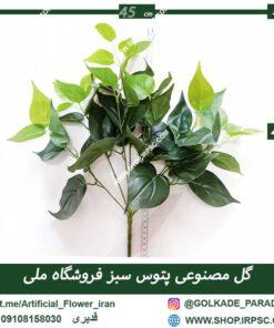 گل مصنوعی پتوس Ra010